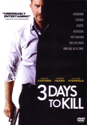 3 DAYS TO KILL DVD (2014)
