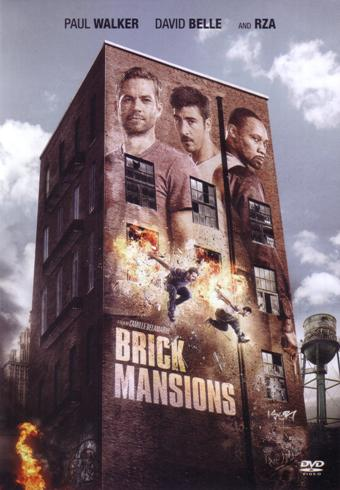 BRICK MANSIONS DVD (2014)