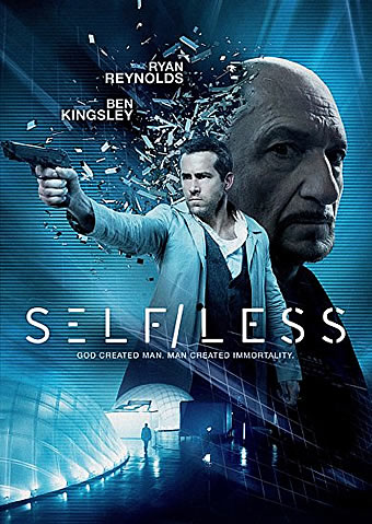SELF/LESS DVD (2015)