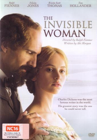 THE INVISIBLE WOMAN DVD (2013)